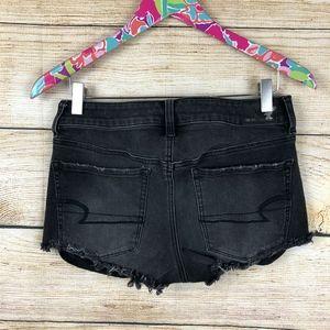American Eagle Outfitters Shorts - Black American Eagle hi-rise shortie sz 6 // U26